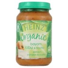 Heinz Organic Spinach, Pumpkin & Ricotta From 9 Months 170g