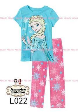 AE Pyjamas - Elsa Blue - L022