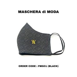 MASCHERA di MODA (FMG01 - BLACK)
