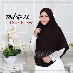 Melati in Dark Brown