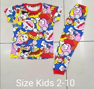 Pyjamas DORAEMON FRIENDS : KIDS size 2