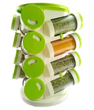 Plastic Spice Rack 16 IN 1