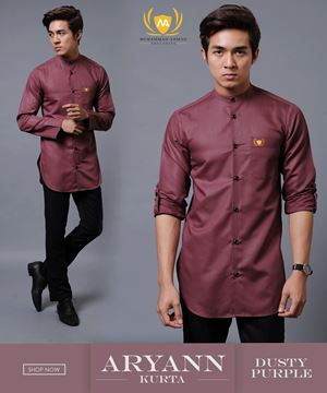 KURTA ARYANN 1ST BATCH ( DUSTY PURPLE )