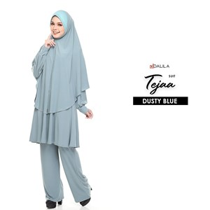 SUIT TEJA (DUSTY BLUE)