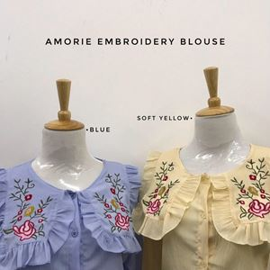 AMORIE EMBROIDERY BLOUSE