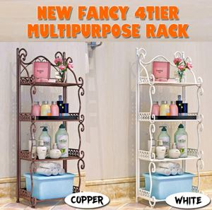 NEW FANCY 4TIER MULTIPURPOSE RACK