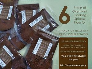 SPECIAL GIFT CHOC DRINK PROMO