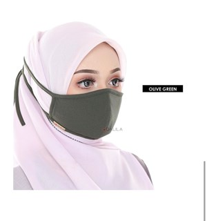 FACEMASK - OLIVE GREEN