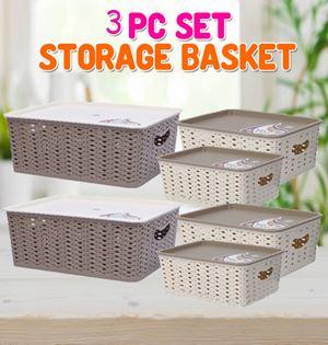 3PC Set Storage Basket