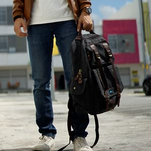 Swiss Army Backpack (Old School Black)