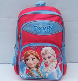 Frozen Backpack - Anna & Elsa Red