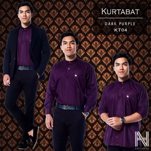 Kurtabat by HANA (Dark Purple)