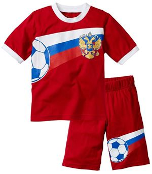 D4371-4 BOY RED SET