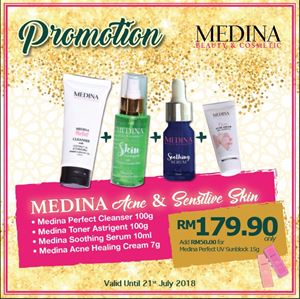 Medina Acne and Sensitive Skin