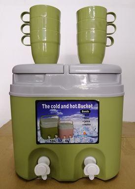 TWIN JUG COMBO 6L - GREEN