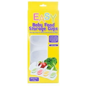 EASY - BABY FOOD STORAGE CUPS