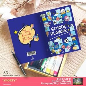 SCHOOL PLANNER - SPORTY