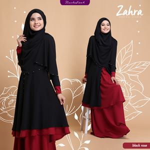 KURUNG ZAHRA [ BLACK ROSE ]