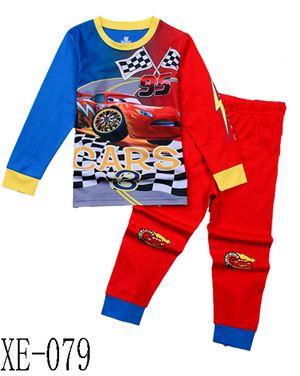 XE-079 'Cars' Pyjama (2 - 7 tahun)