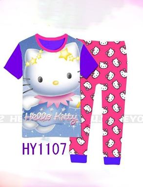 HY1107 Hello Kitty Pyjamas