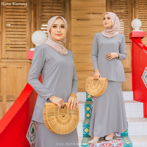 AURA KURUNG LIGHT GREY