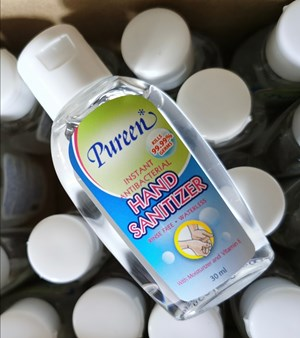 Pureen Hand Sanitizer 30ml (mini bottle) GEL TYPE