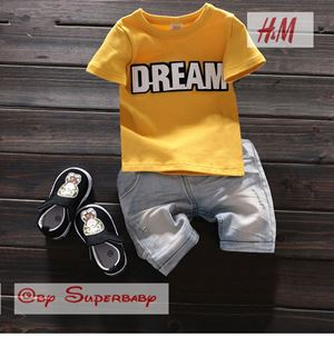 @  WS-201559-015  DREAM YELLOW 2pcs SET (sz2-7)