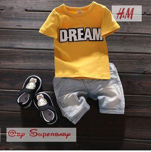 @  WS-201559-015  DREAM YELLOW 2pcs SET (sz2-7)
