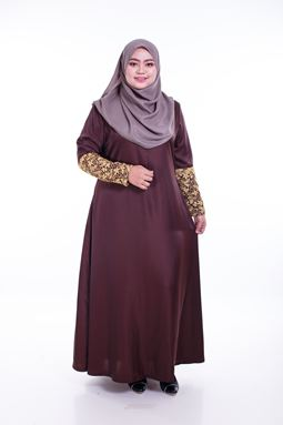 ROSSABELLE DRESS BROWN