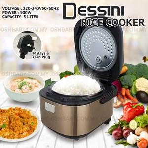 DESSINI RICE COOKER 5L