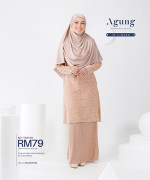 NEW LOOK AGUNG GEOMETRIC SERIES IN LINESS