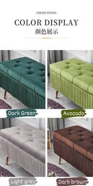 READY STOCK STORAGE BENCH 120CM