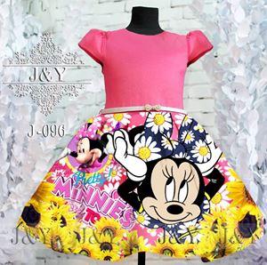 @  J & Y ( J-096 MINNIE ) DRESS - SZ 2Y - 8Y
