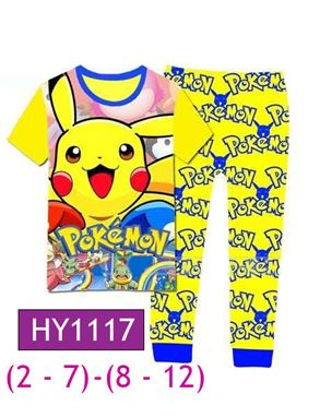 HY1117 Pokemon Pyjamas (2T)