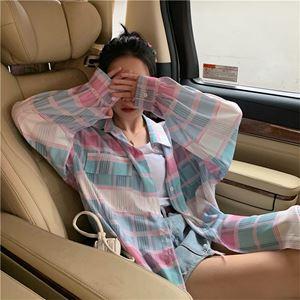 Pinky Plaid Shirt
