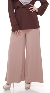 Palazzo (Khaki) Maternity Friendly with Adjustable Waistband