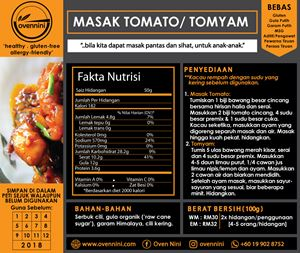 Masak Tomato/ Tomyam