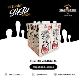 Fresh Milk with Dates 1L X 12 PKTS