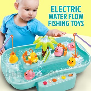 ELECTRIC WATER FLOW FISHING TOYS