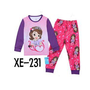 CALUBY XE-231 Kids Pyjama (2-7 tahun)