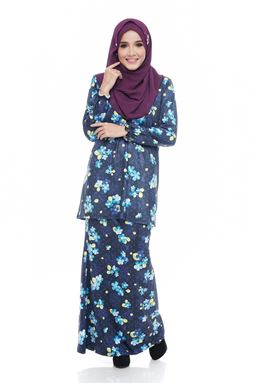 SALE -Diva Mini Kurung (DV209) - Nursing + Maternity ( XL, 2XL)