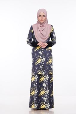 Baju Kurung Melissa (KM102) - SizeXS, S, M, XL available