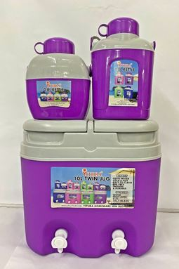 TWIN JUG COMBO 10L - ROYAL PURPLE