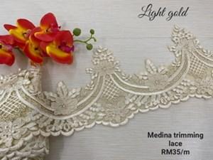 Medina trimming lace