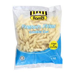 FRENCH FRIES CRINKLE CUT