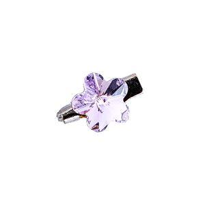 Brooch Fancy Flower Violet