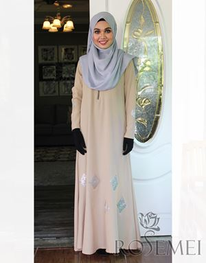 LE ANNE DRESS - BEIGE