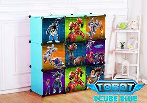 Tobot 9C Blue DIY Wardrobe (TB9B)