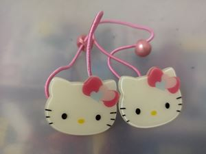 @  HELLO KITTY RUBBER BAND