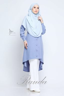 BLOUSE RAUDA - BAYVIEW BLUE